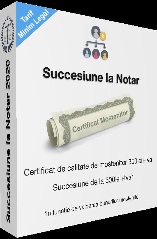 succesiune la notar