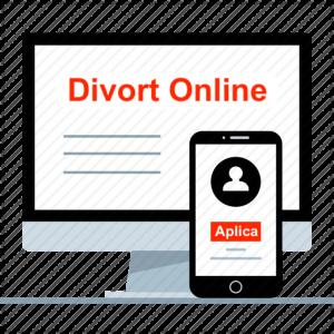 divort la notar online