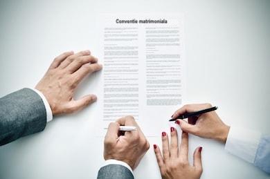 contract prenuptial